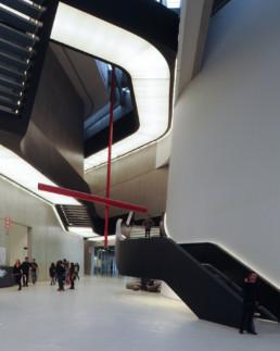Zaha Hadid Maxxi Museum Larry Speck Rome Italy Interior