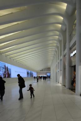 Santiago Calatrava Path Station New York City NYC Larry Speck