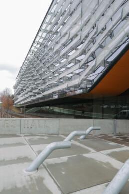Morphosis Architecture Bill and Melinda Gates Hall Computer Science Building Cornell University Mesh Panel Facade Futuristic